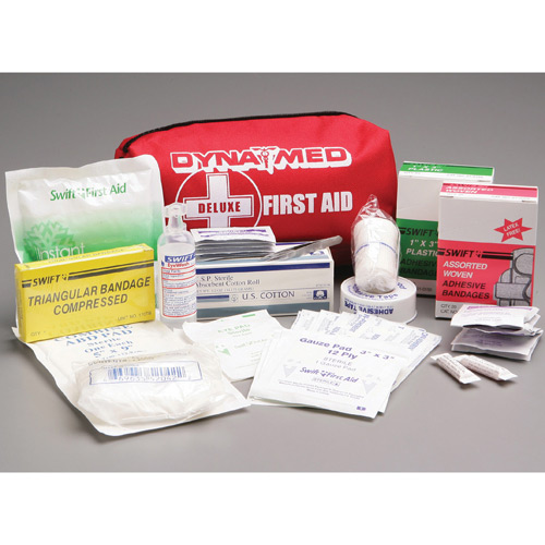 Dyna Med Deluxe First Aid Kit with Nylon Bag