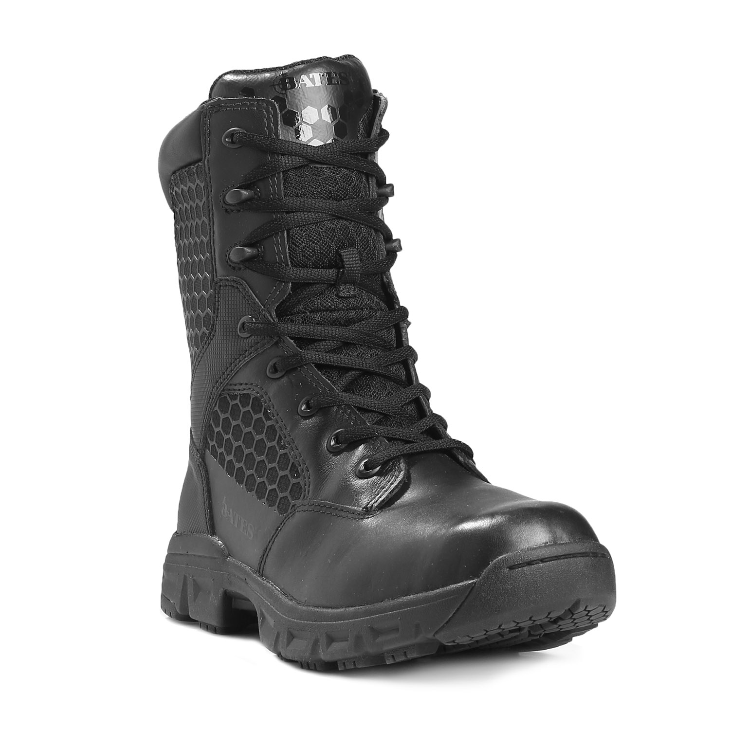 "Bates 8"" Code 6 Side Zip Boot"