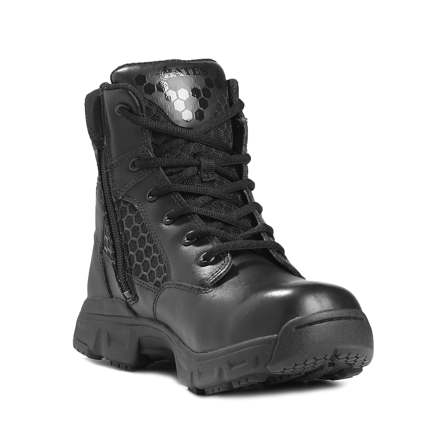 "Bates 6"" Code 6 Side Zip Boot"