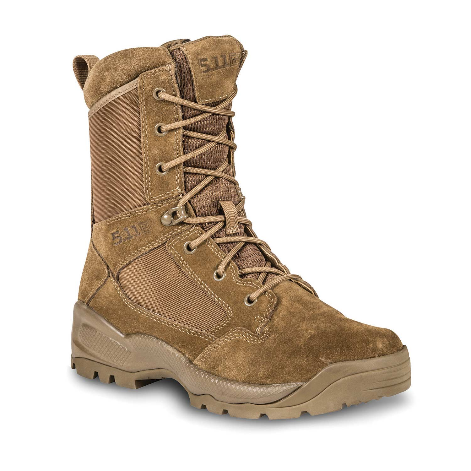 "5.11 Tactical A.T.A.C. 2.0 8"" Side Zip Desert Duty Boot"