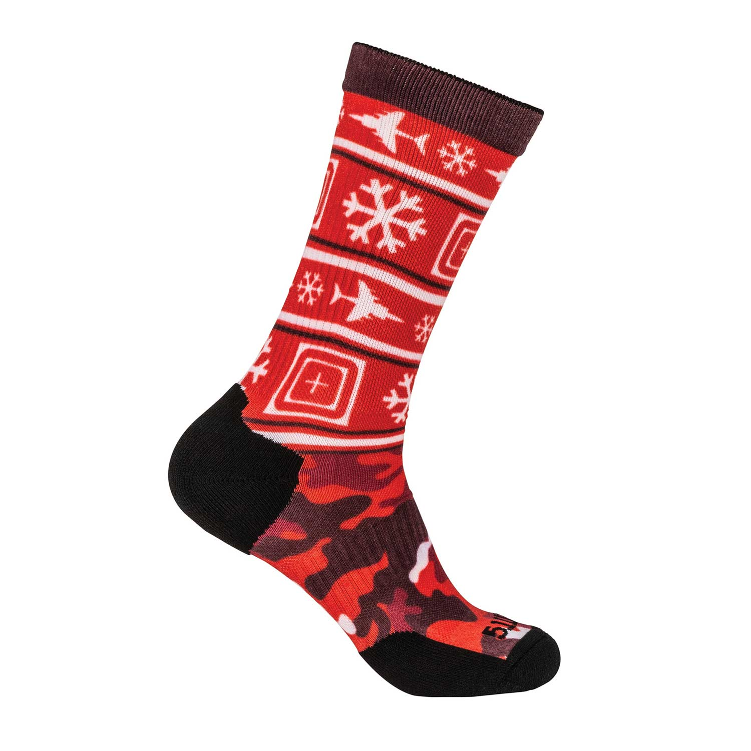 5.11 Tactical Socks and Awe Tactical Holiday Crew Socks