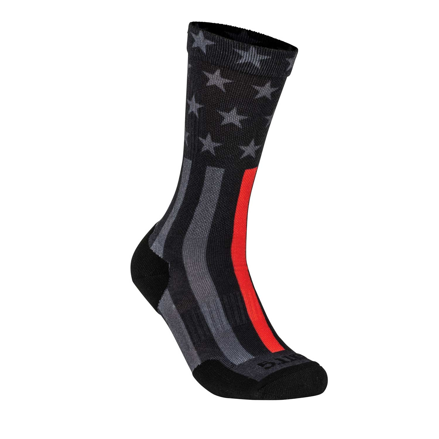 5.11 Tactical Socks and Awe Thin Red Line Crew Socks