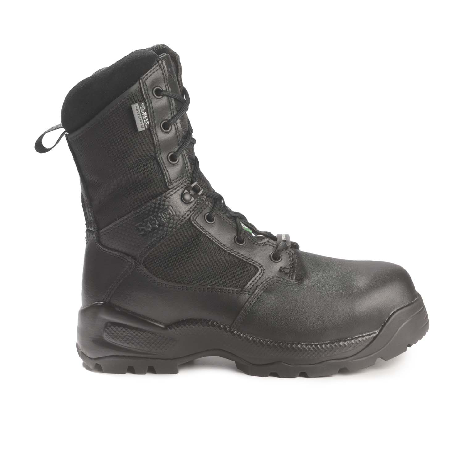 """The 5.11 ATAC Shield 8/"""" Waterproof Safety Side-Zip Boot Black"""