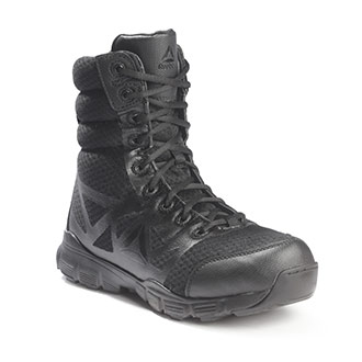 "Reebok 8"" Dauntless Ultra-Light Side-Zip Duty Boots"