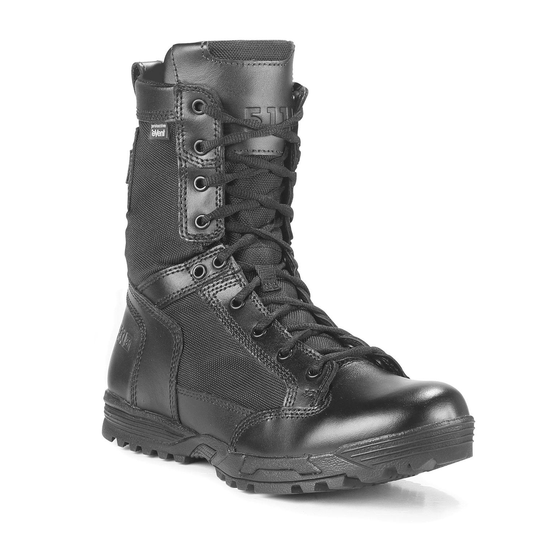 Military Boots, Combat Boots, Lightweight, Waterproof, Zipper