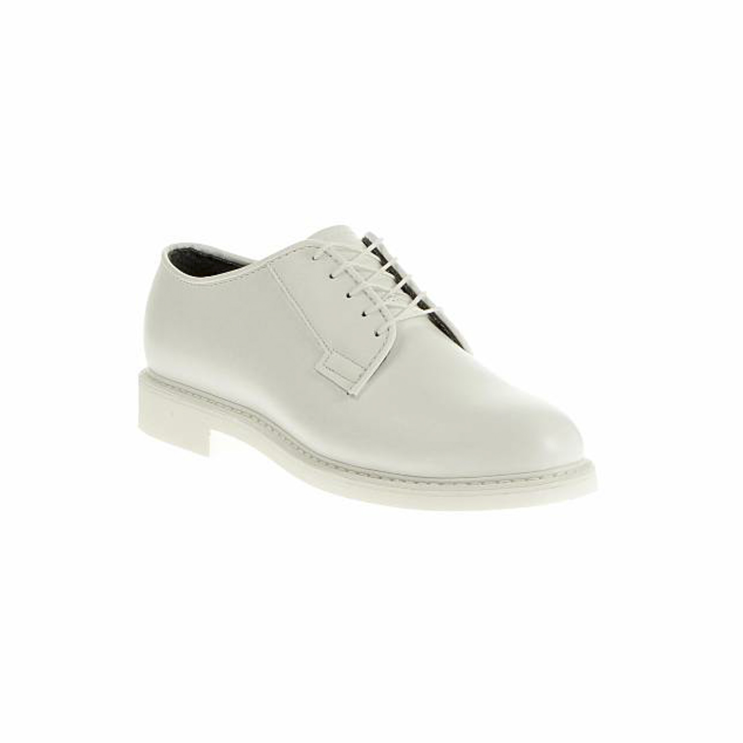 Bates Lites White Leather Dress Oxford
