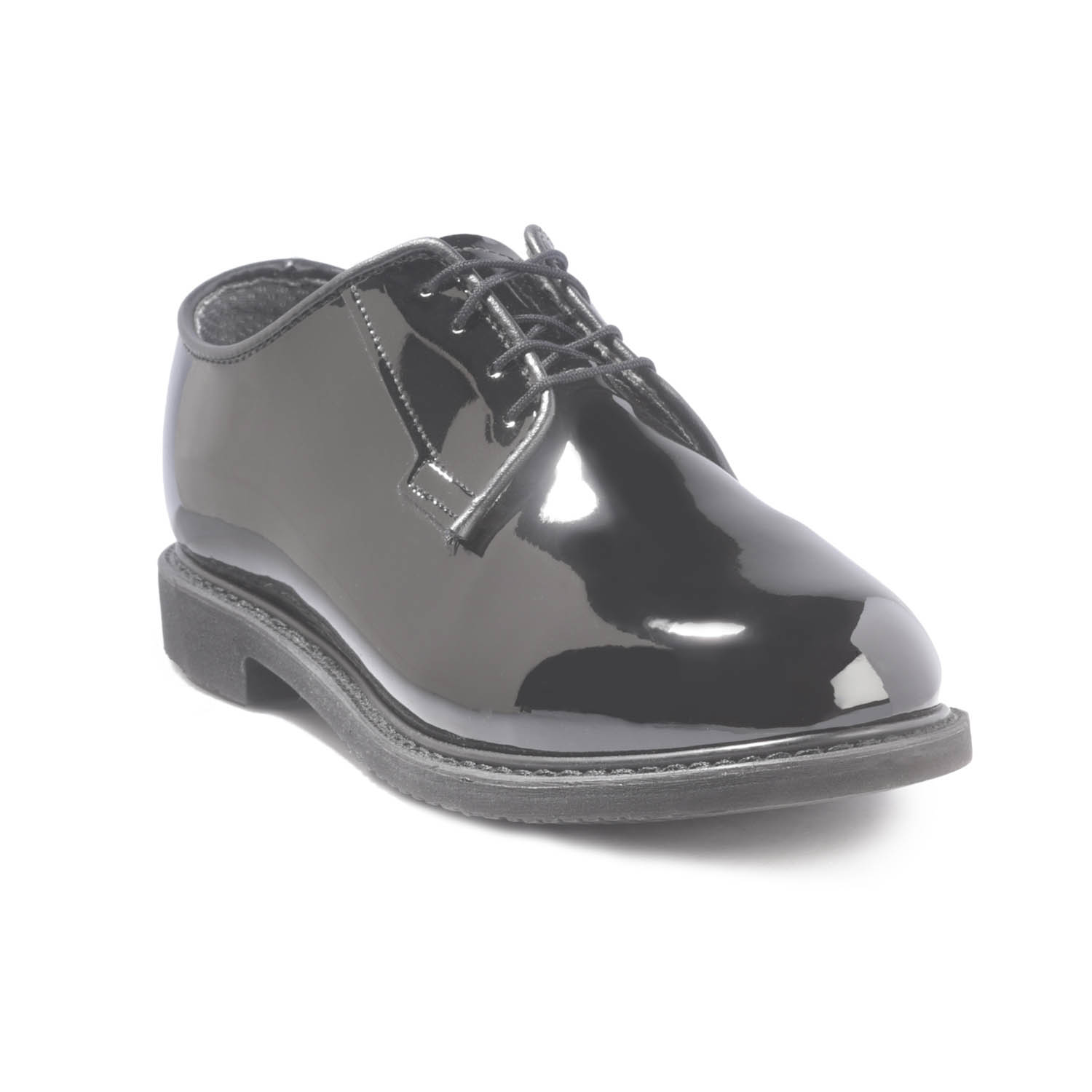 Bates Women's Lites Black Hi-Gloss Oxford