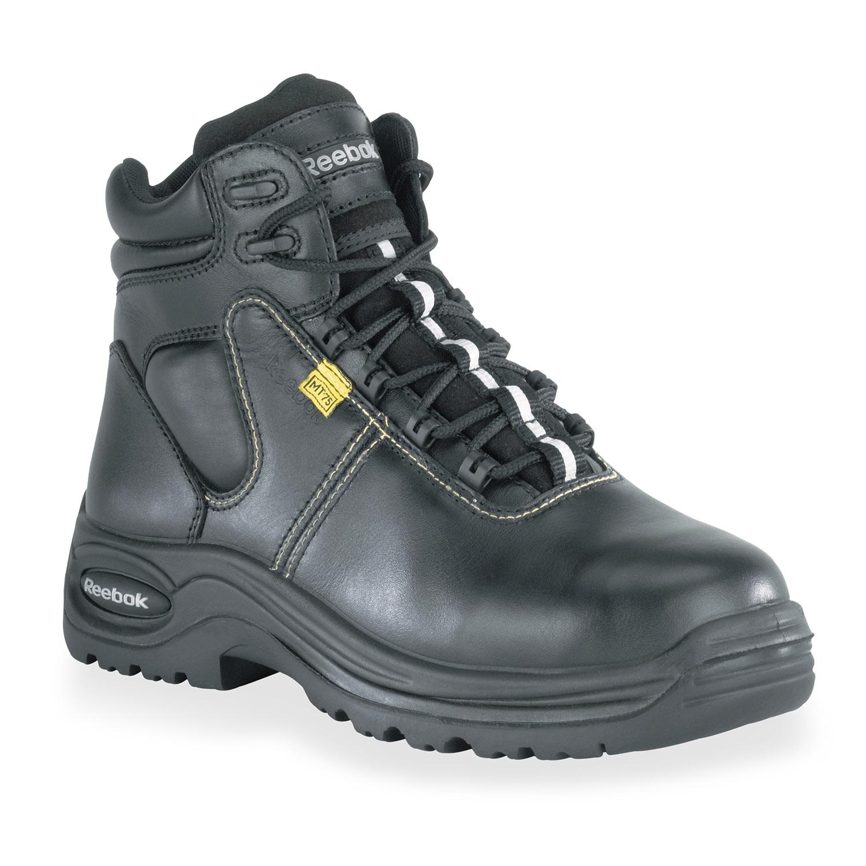 reebok s metatarsal guard composite toe boot