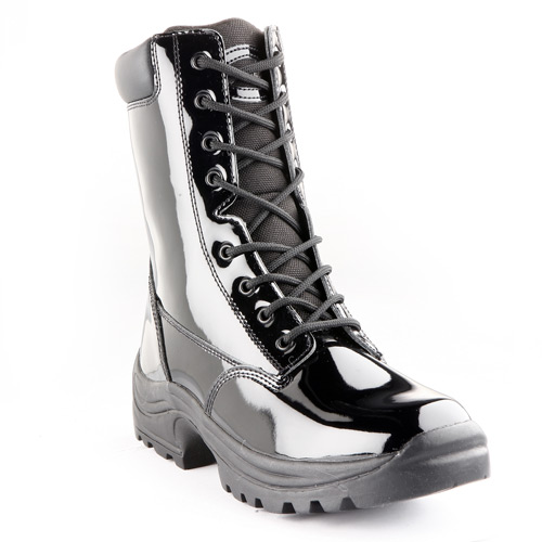 "Galls 8"" High Gloss Parade Boot"