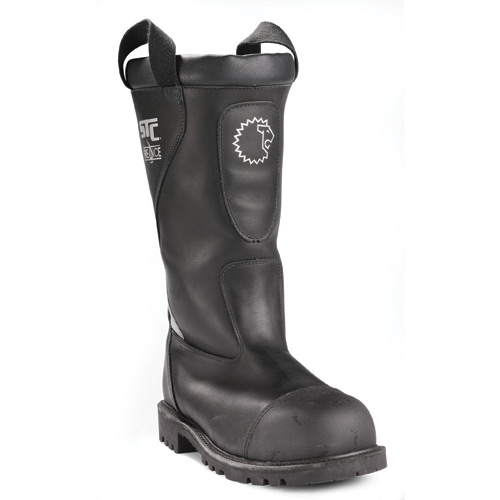 "Lion Marshall 14"" Leather Fire Boot"