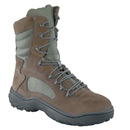 Converse Mens 8 inch Lace Up Steel Toe Duty Boot with Side Zipper