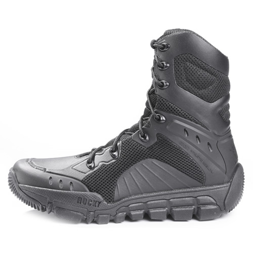 Bates® work boots are renowned for their durable construction, tactical features and smart design that ensures hours of comfortable wear throughout the day. Engineered for the great outdoors, Bates® boots deliver maximum performance in all weather conditions thanks to a non-slip rubber outsole that provides superior traction.