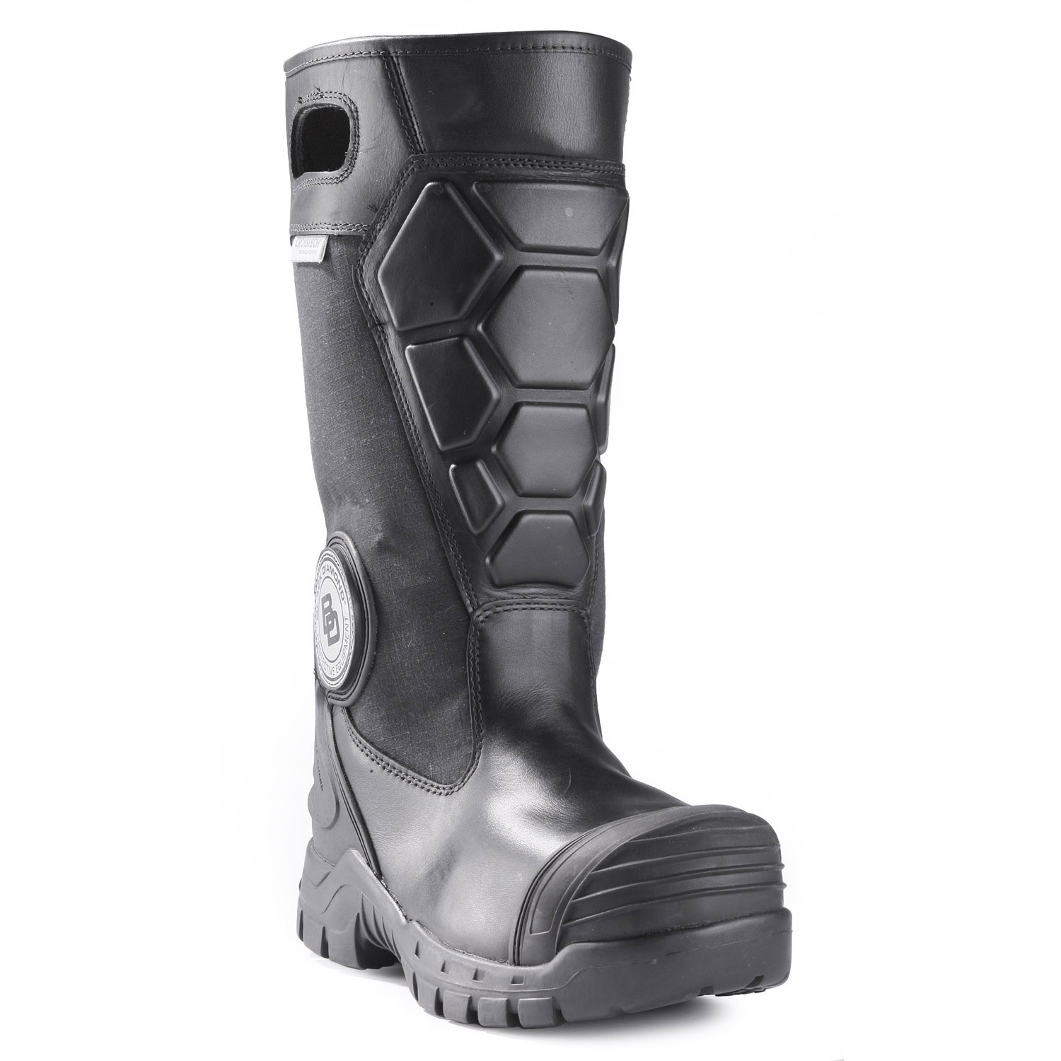 black x2 leather boot