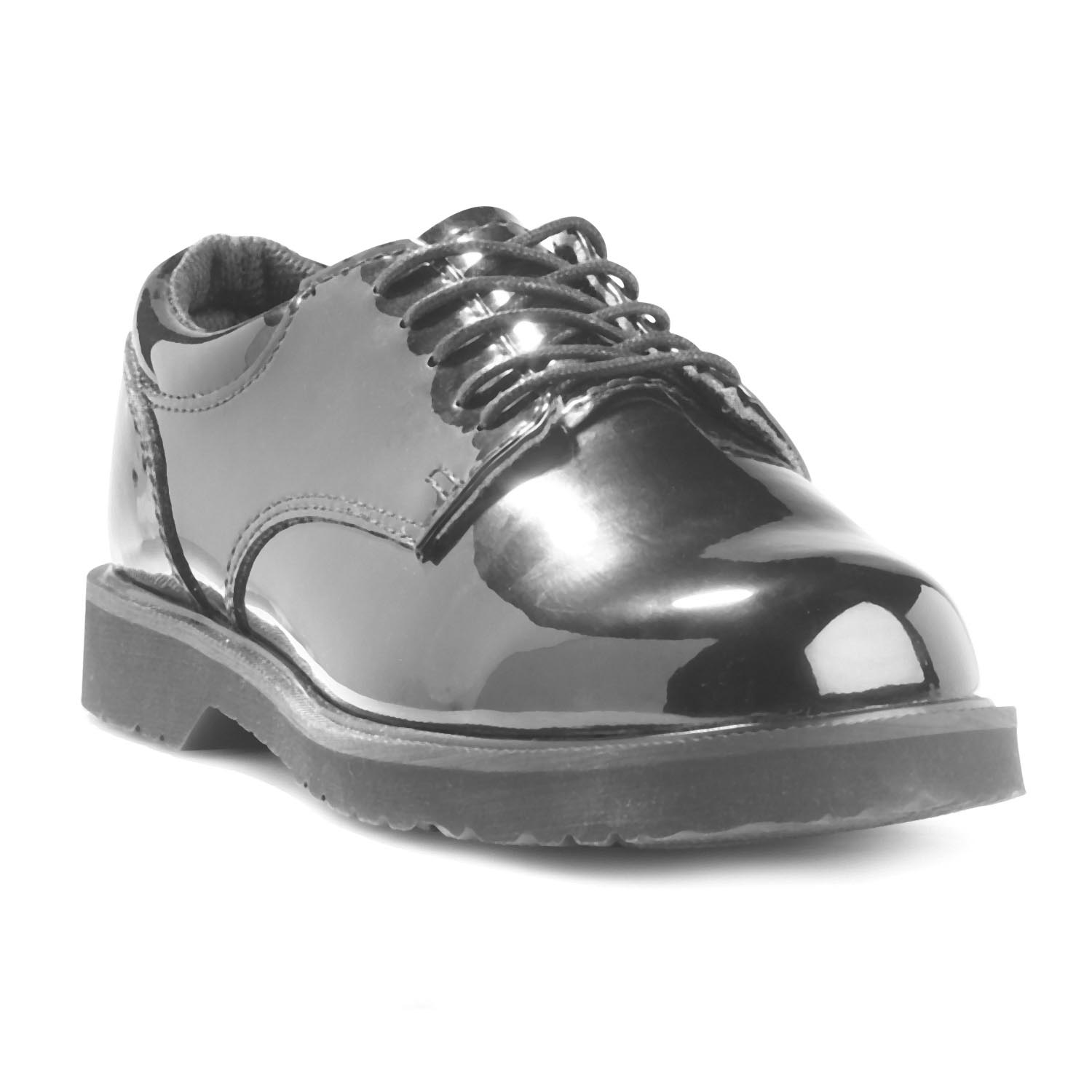 Bates High Gloss Duty Oxfords