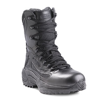 "Reebok 8"" Rapid Response Side Zip Tactical Boots"
