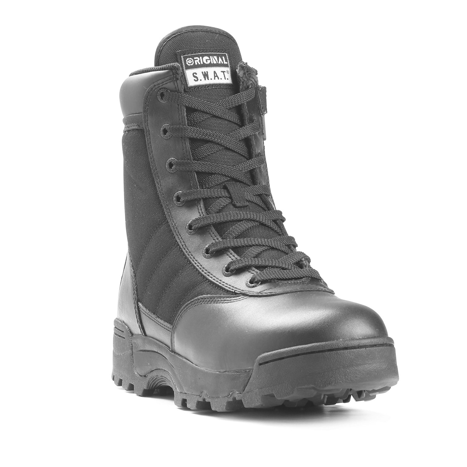 "Original S.W.A.T. 9"" Classic Side Zip Boot (Black)"