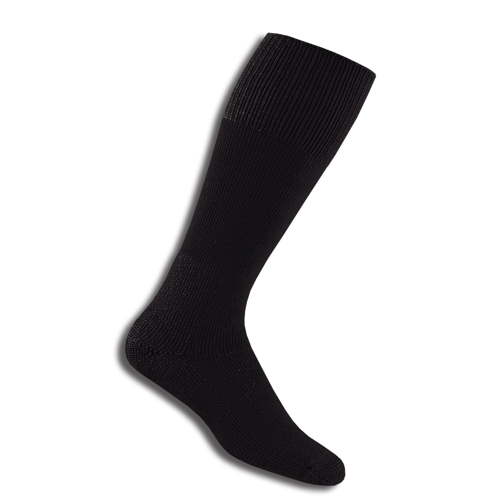 thorlos black combat boot socks