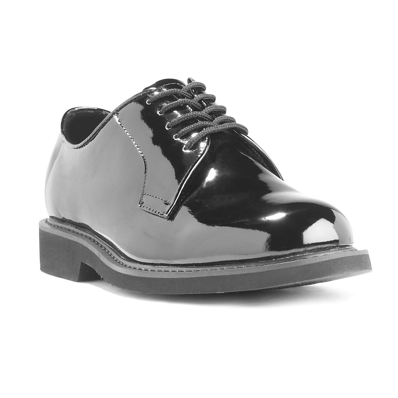 LawPro Hi-Gloss Oxfords   Uniform Shoes