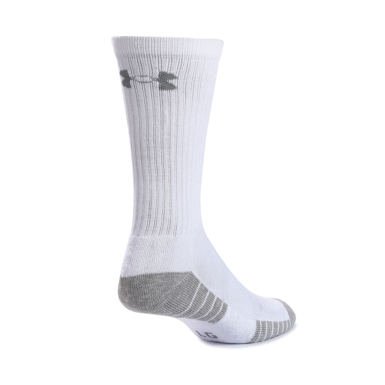 Under Armour Socks Mens Heatgear Tech Crew Socks Pick SZ//Color.