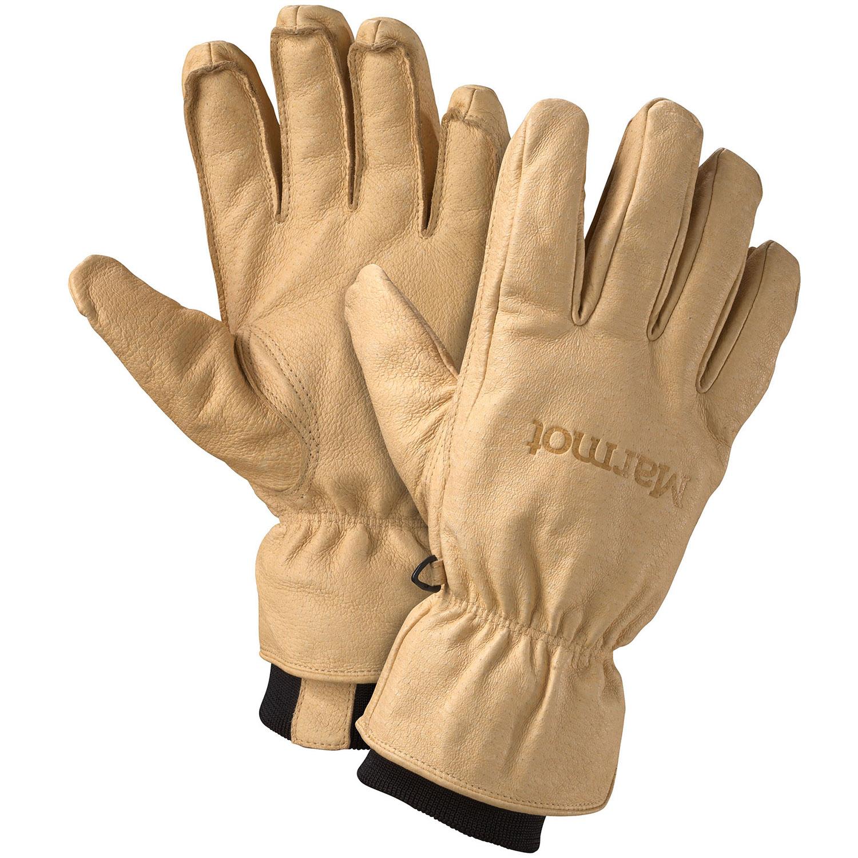 Womens leather ski gloves - Marmot Basic Ski Gloves