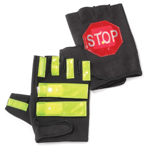Brite Strike Active Illumination Traffic Safety Gloves