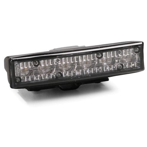 SoundOff Signal LED Deck/Grille Mount Single GHOST Light