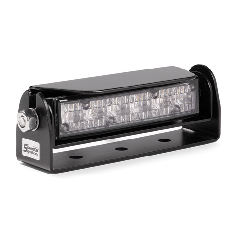 SoundOff Signal Single Deck/Grille Mount GHOST LED Rock Ligh