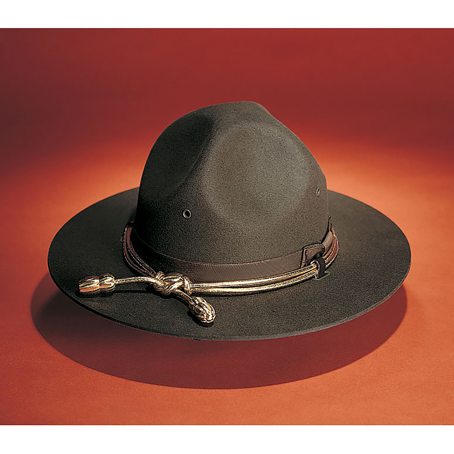 cfa820287 Galls Felt Campaign Hat with Adjustable Leather Chinstrap