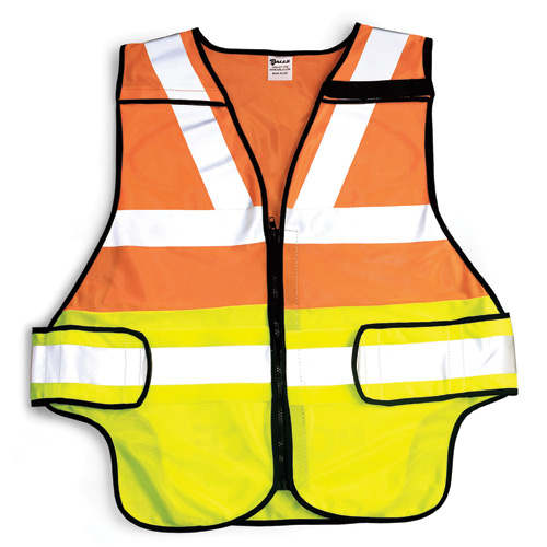 Galls Zip-N-Rip ANSI Class 2 and 207 Traffic Vest