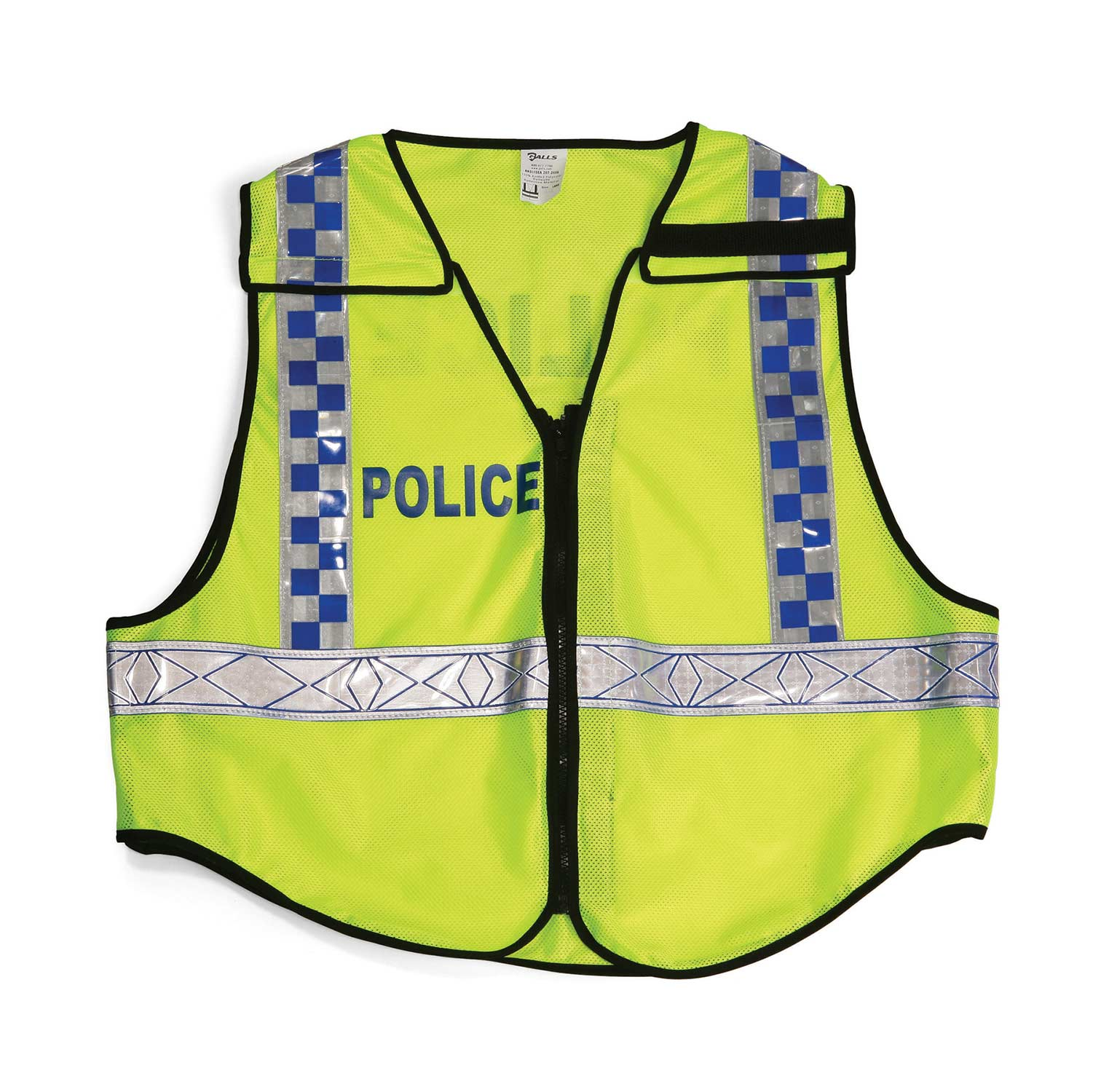 Galls Zip-N-Rip ANSI 207 Public Safety Traffic Vest