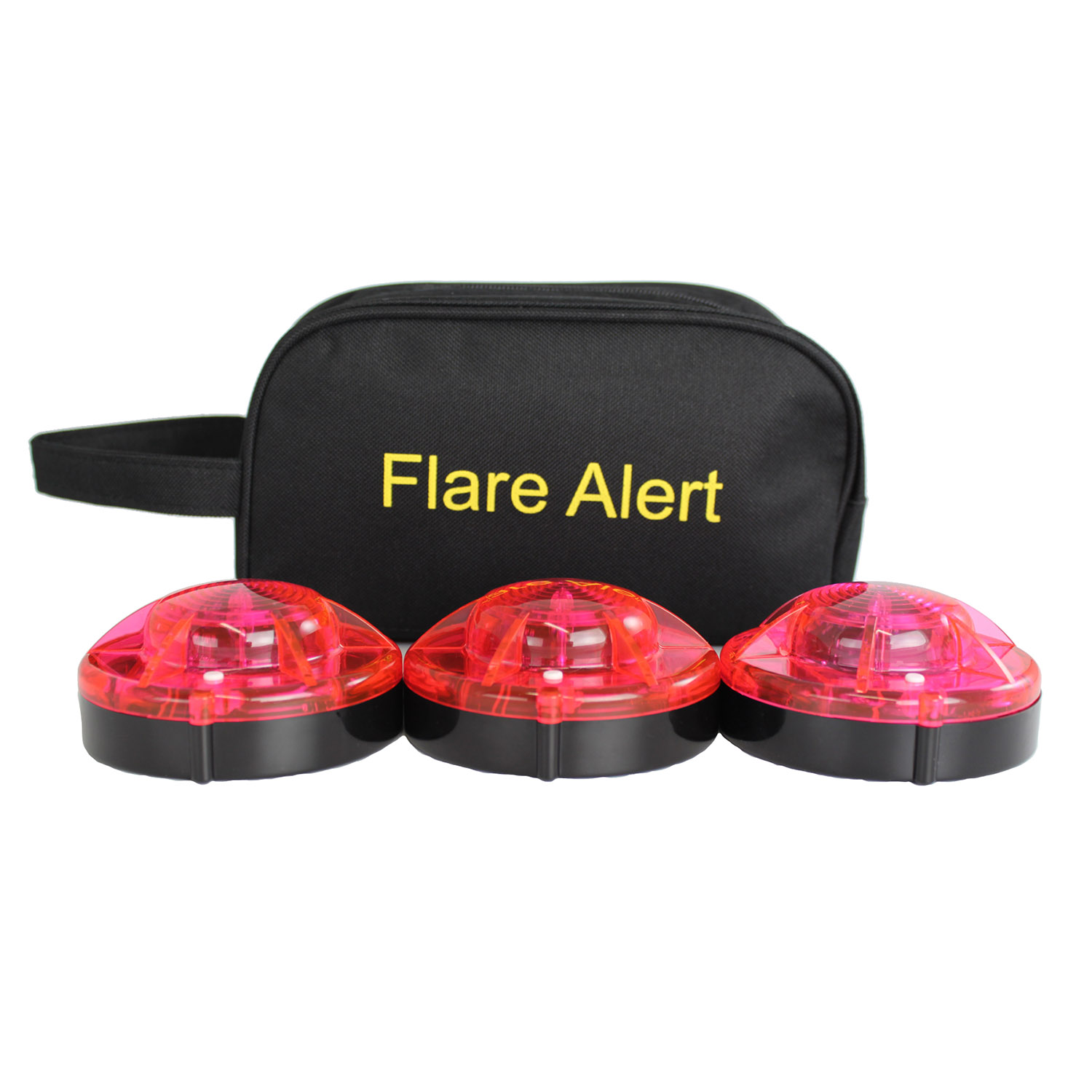 FlareAlert Small LED Beacon Flare Kit with Batteries and Cas