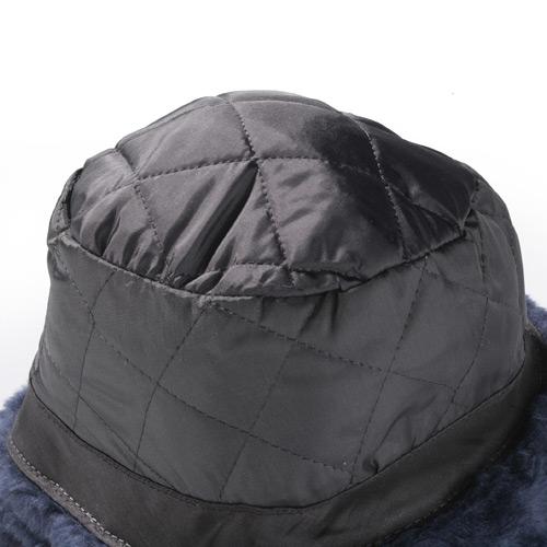 Vinyl Faux Fur Trooper Cap