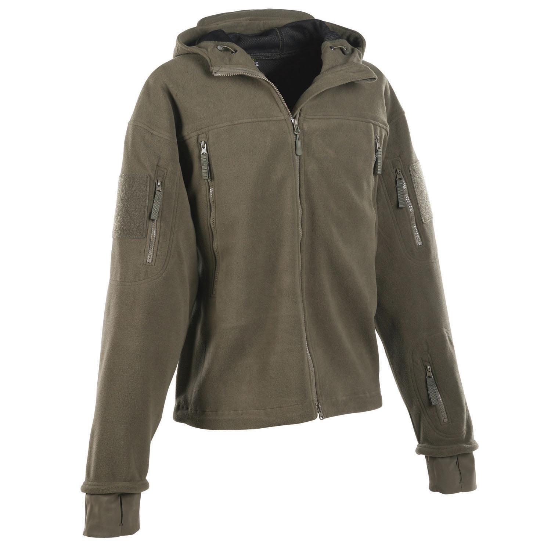 Fleece Jacket With Hood