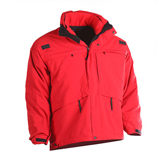 5.11 Tactical Mens 3-in-1 Waterproof Work Parka TacTec System Compatible Insulated Style 48001