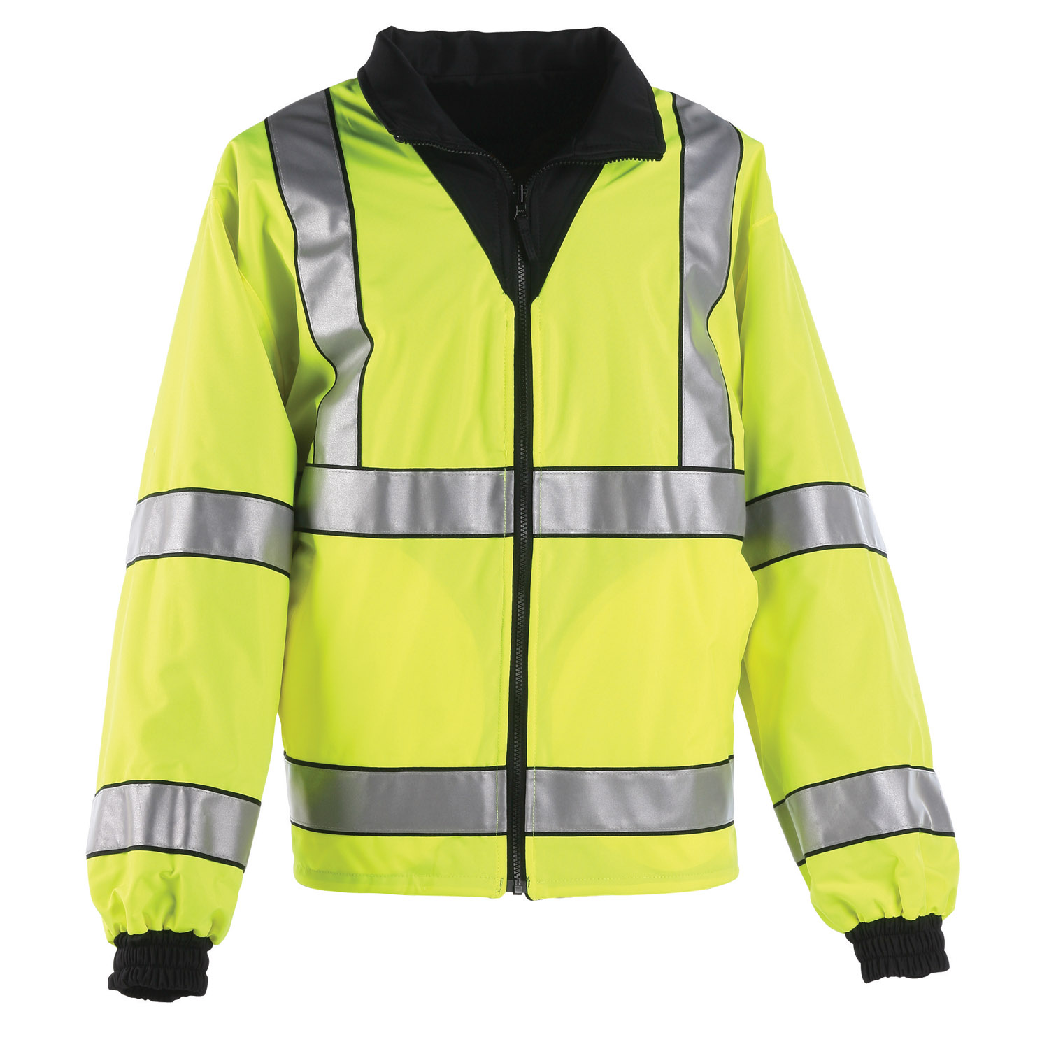 Anchor Hi-Viz Reversible Fleece Jacket