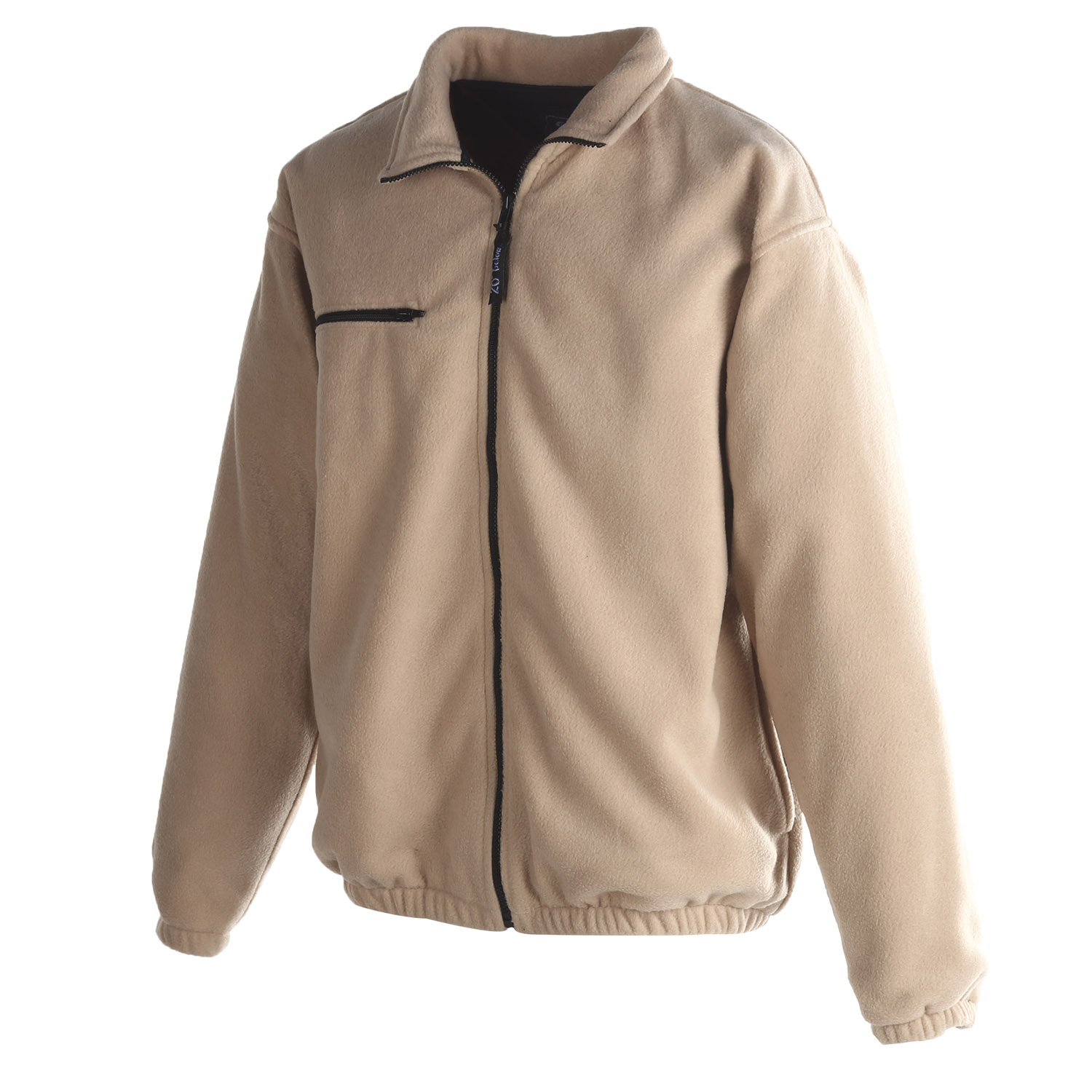 Tan Fleece Jacket | Outdoor Jacket