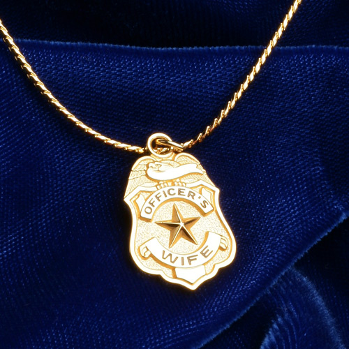 Blackinton Goldplated Officer's Wife Necklace