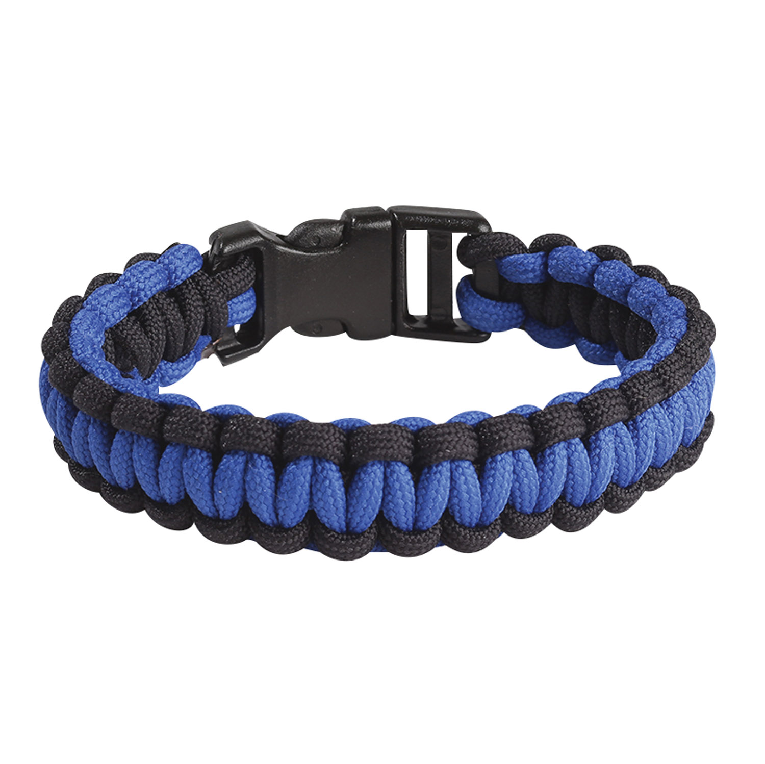 Blue Line Braided Bracelet