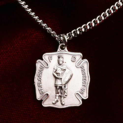 Blackinton St. Florian Medal with Chain