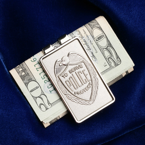 Blackinton Police Money Clip
