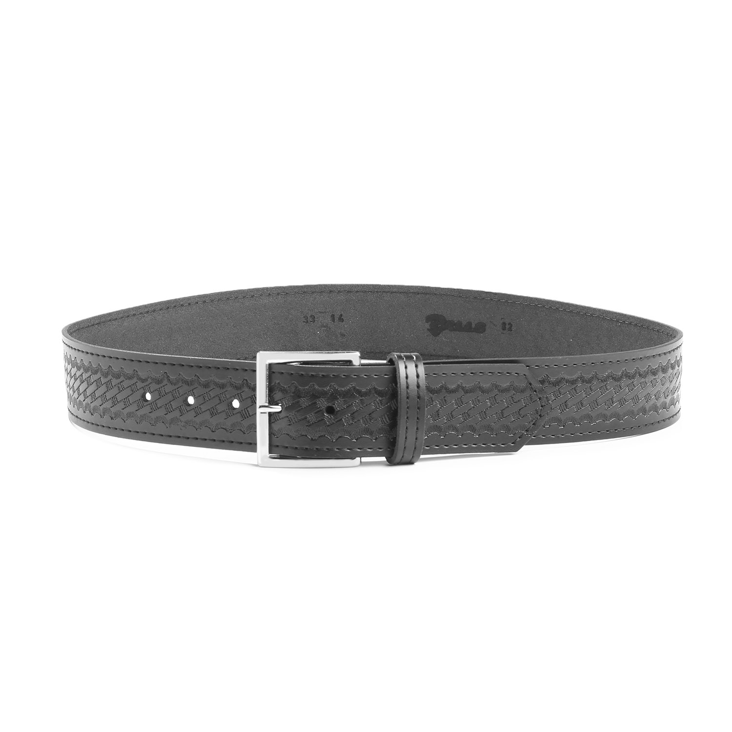 GENUINE MAN MADE LEATHER PLAIN WHITE SNAP ON BELT FOR BUCKLES TOP QUALITY MOLDED
