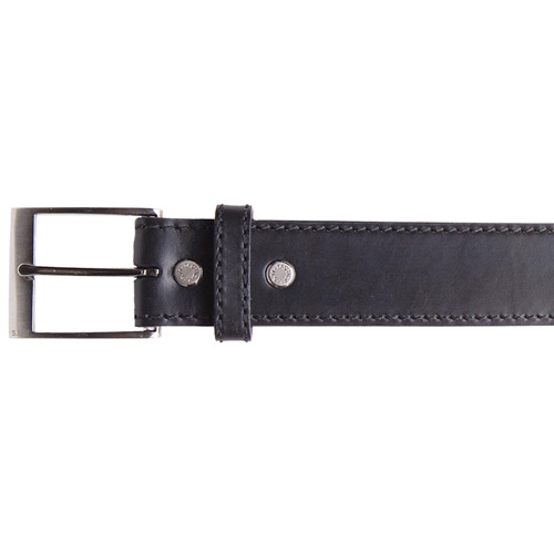 """5.11 Tactical Casual Brown Reinforced Leather Belt 1.5/"""" 59501 Handcuff Key"""