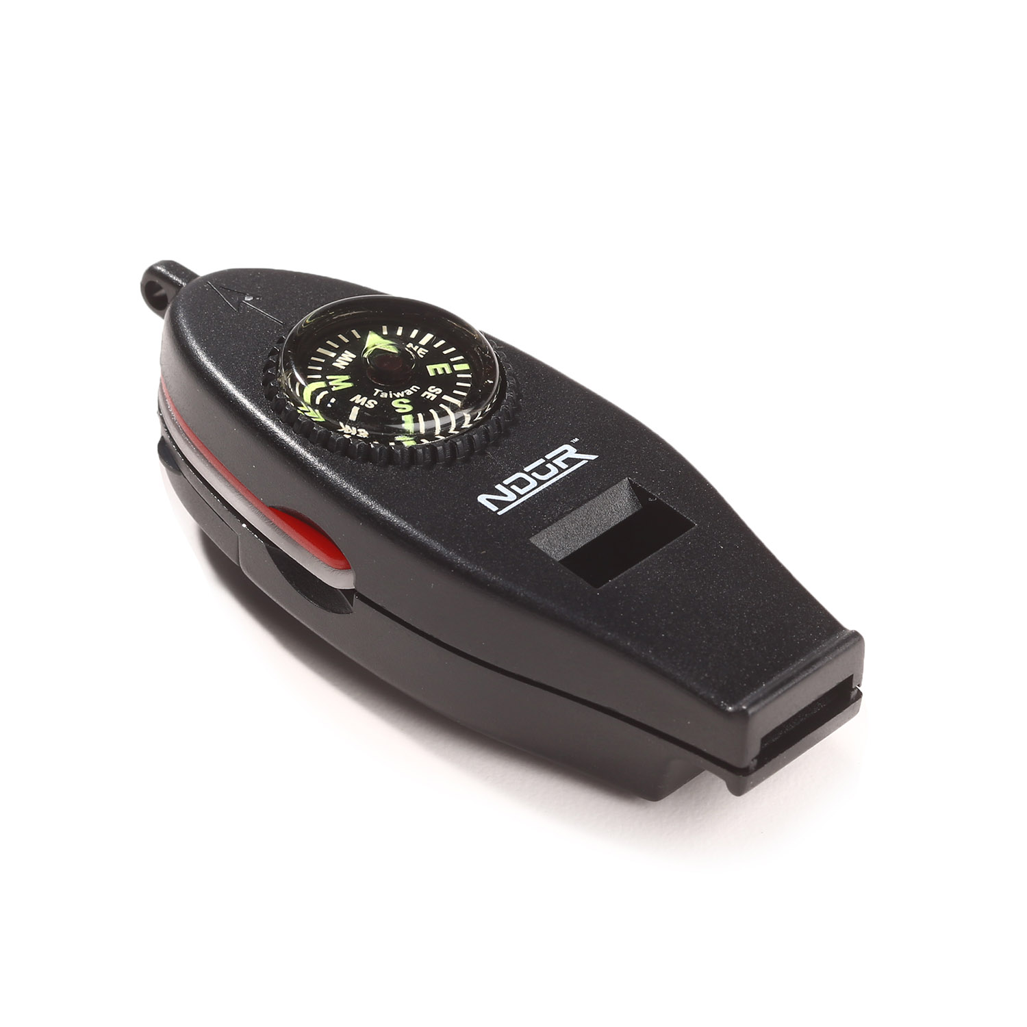 NDUR 6-in-1 Survival Whistle and Compass