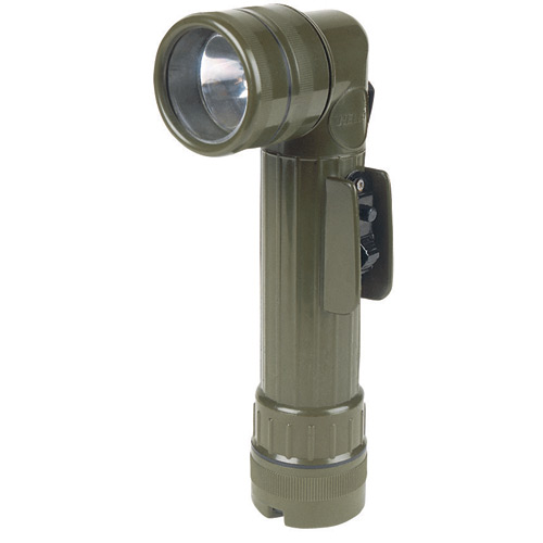 Tru-Spec Anglehead Flashlight (GI Spec Olive Drab)