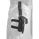 Galls Drop Leg MK-9 Defense Spray Holder with Utility Pouch