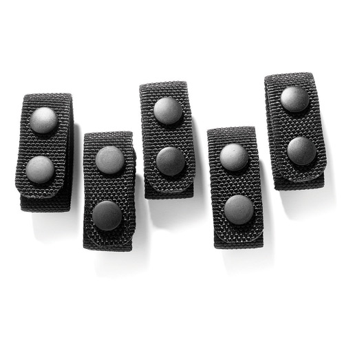 Galls Molded Nylon Belt Keepers (4 Pack) - GSA Approved