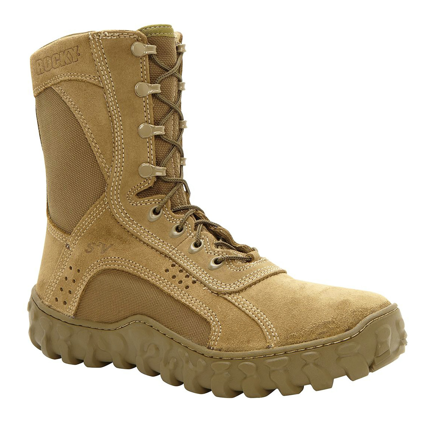 "Rocky S2V Steel Toe 8"" Military Boot"