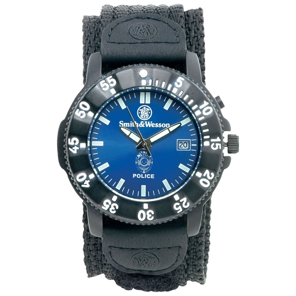 Smith & Wesson Police Watch with Nylon Band