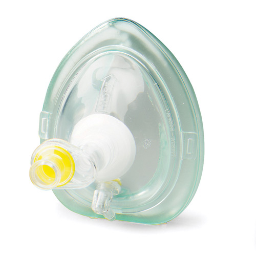 Dyna Med CPR Mask with O2 Inlet