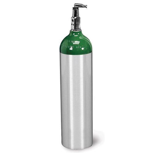 Allied Healthcare Products Aluminum D O2 Cylinder
